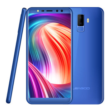 Leagoo M9 5.5 Inch 18: 9 Quad Camera 2 GB RAM 16GB ROM MT6580A 1,3 GHz Quad-Core 3G Smartphone