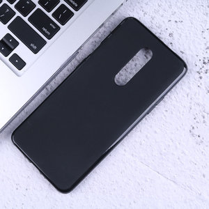 Bakeey OnePlus 7 Pro Pudding Frosted Anti-Scratch Soft TPU Achterkant Pro Beschermhoes voor OnePlus 7 Pro