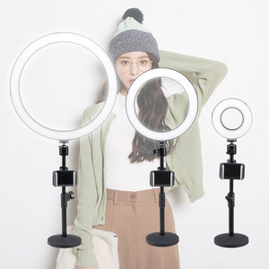 "13/9/5 ""Dimbare LED Ring Light Stand Foto Videocamera Telefoon voor YouTube Live"