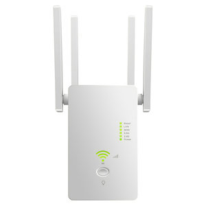 1200M Dual Band Wireless AP Repeater 2.4GHz 5.8GHz Router Range Extender WiFi Amplifier Signal Extend WiFi Booster