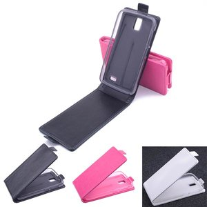 PU Flip Leather Case Cover Vuilafstotend Voor Lenovo A328 A328T